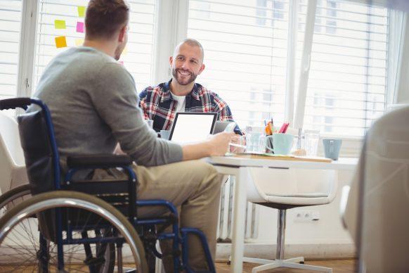 Loi en faveur de l'emploi des personnes handicapées